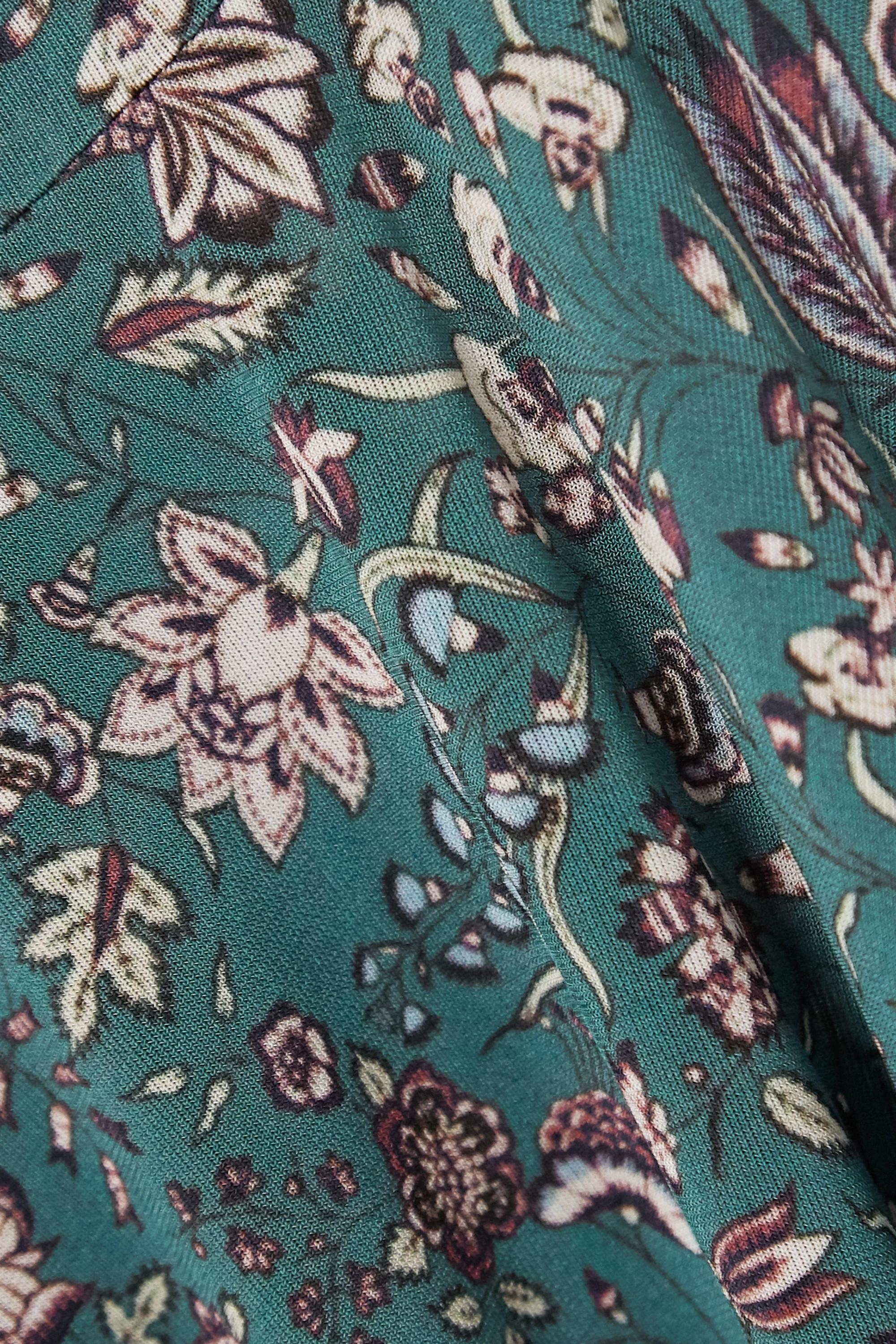 Isabel Marant Goyela Oberteil aus Stretch-Jersey mit Blumenprint