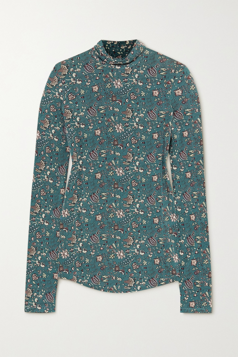 Isabel Marant Goyela 花卉印花弹力平纹布上衣