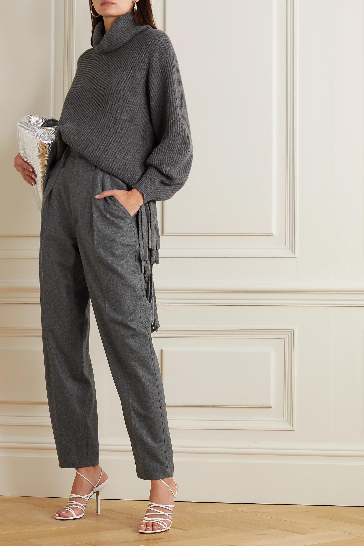 Isabel Marant Racomisl pleated wool tapered pants