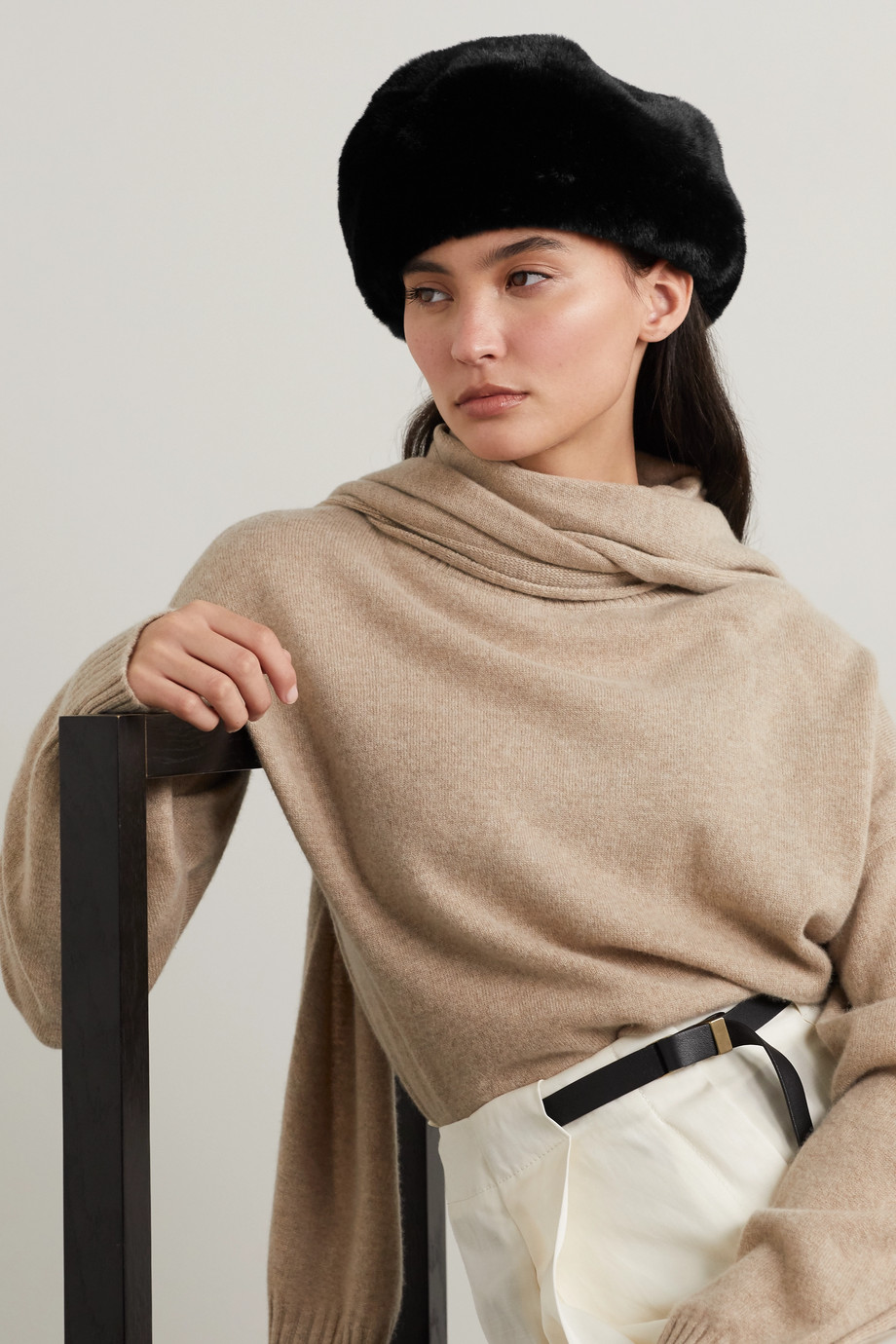 Eugenia Kim Mishka Barett aus Faux Fur