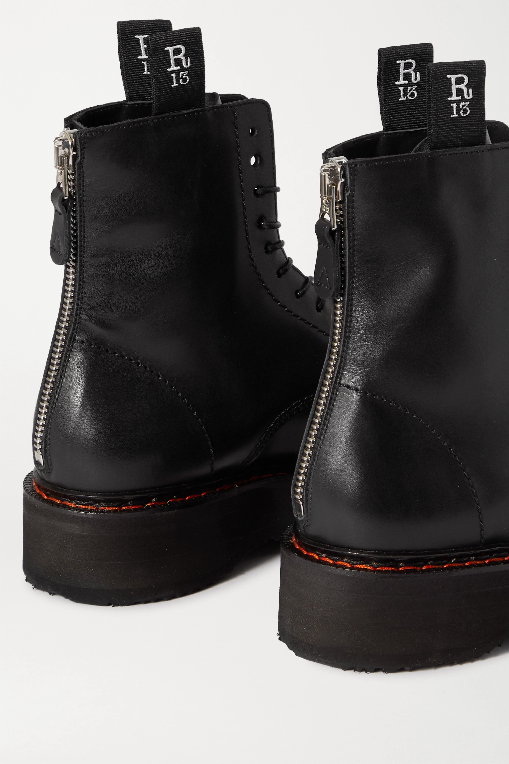 R13 Leather ankle boots
