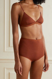 Baserange + NET SUSTAIN Mississippi stretch-bamboo soft-cup triangle bra