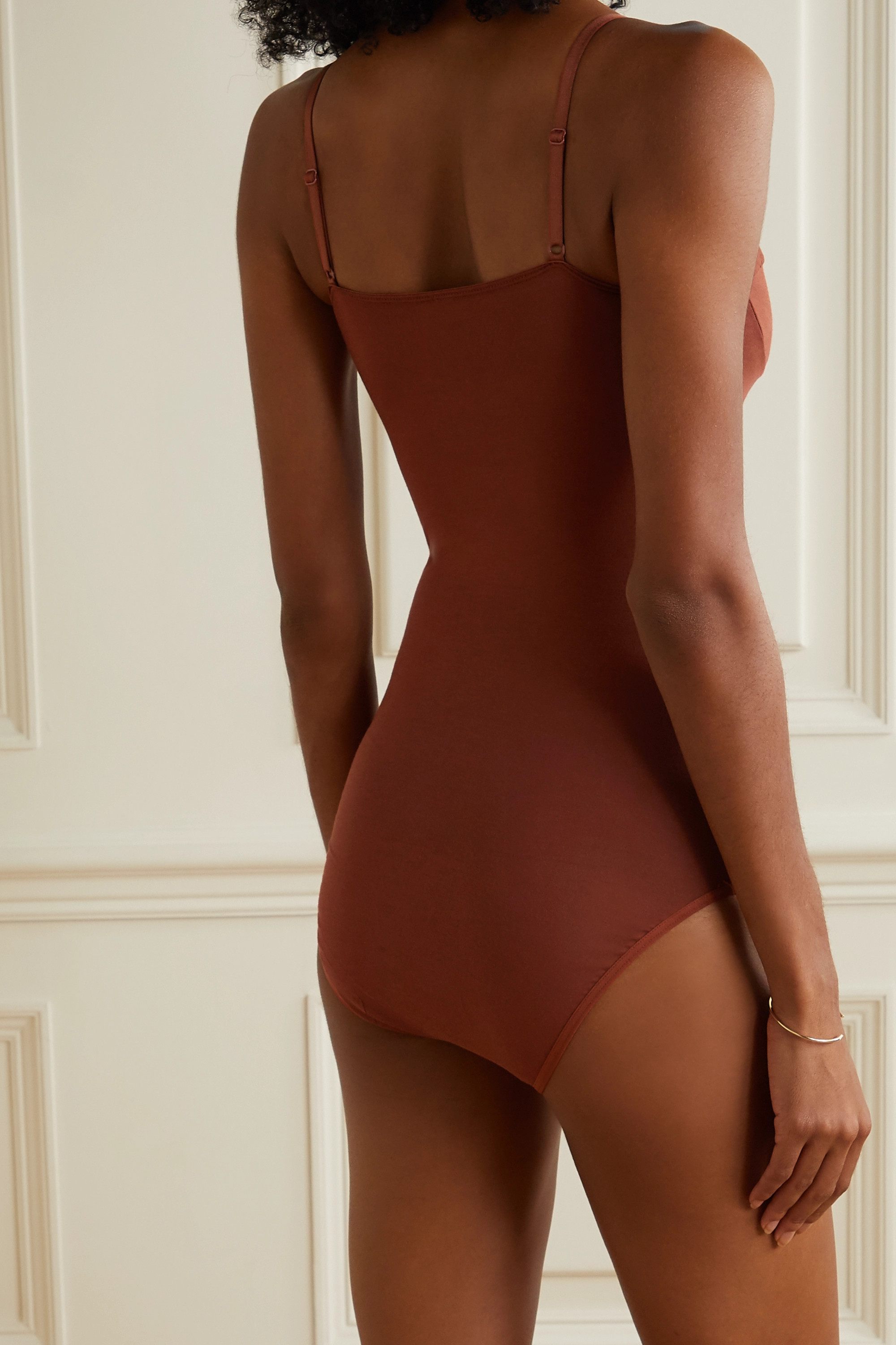 Baserange + NET SUSTAIN stretch-bamboo bodysuit