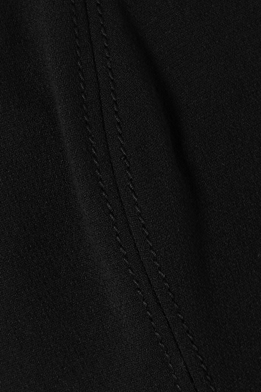 Valentino Strapless wool-blend crepe midi dress