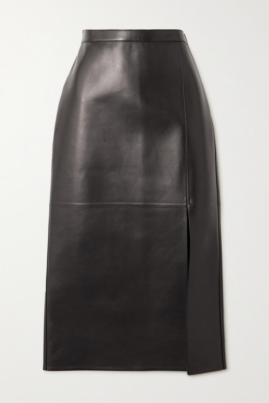 Valentino Midirock aus Leder