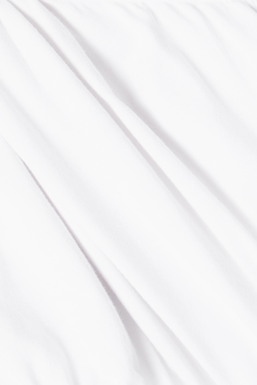 Marika Vera Laura cutout stretch-jersey turtleneck thong bodysuit