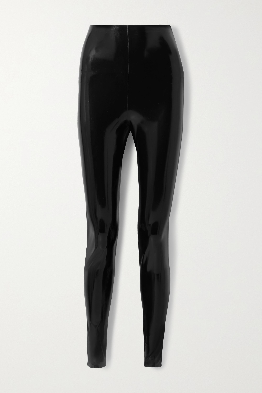 SAINT LAURENT Legging en latex et kit nettoyant pour latex de 3 x 30 ml (Vividress, Vivishine, Viviclean)