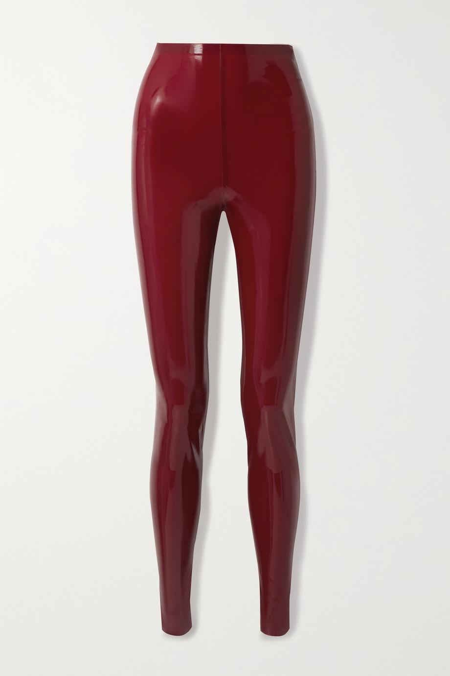 SAINT LAURENT Latex leggings + Latex Care cleaning kit 3 x 30ml bottles (Vividress, Vivishine, Viviclean)