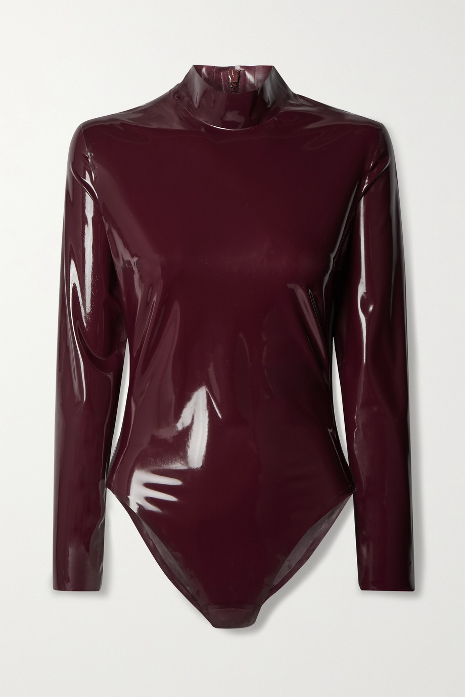 SAINT LAURENT Latex bodysuit