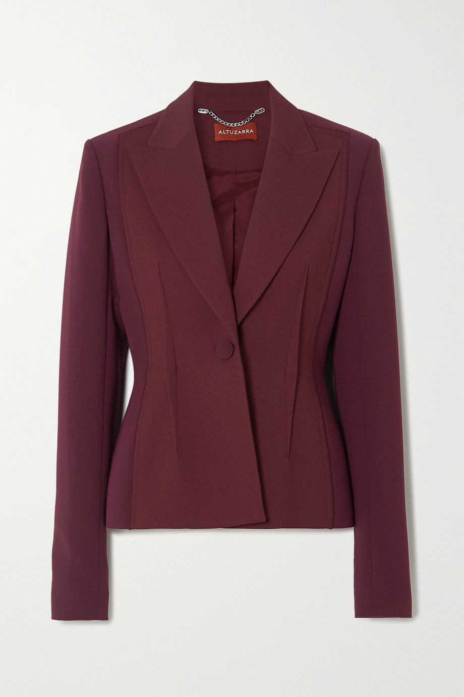 Altuzarra Eleanor wool-blend crepe blazer