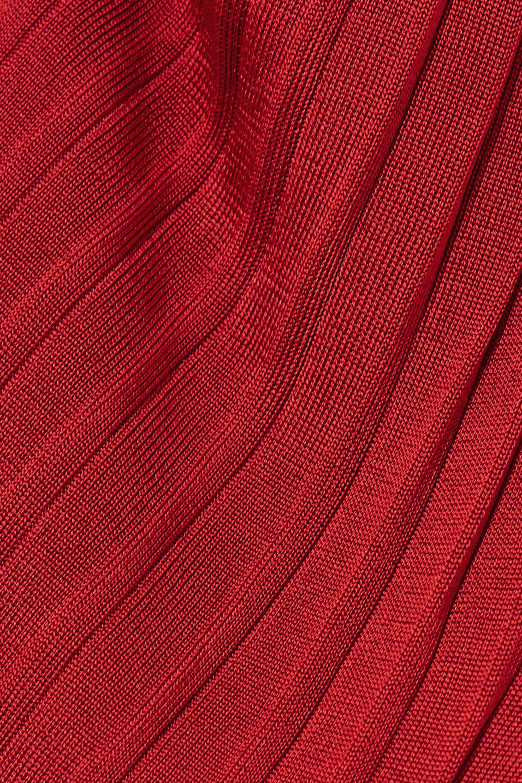 Altuzarra Dean 褶裥弹力针织中长半身裙