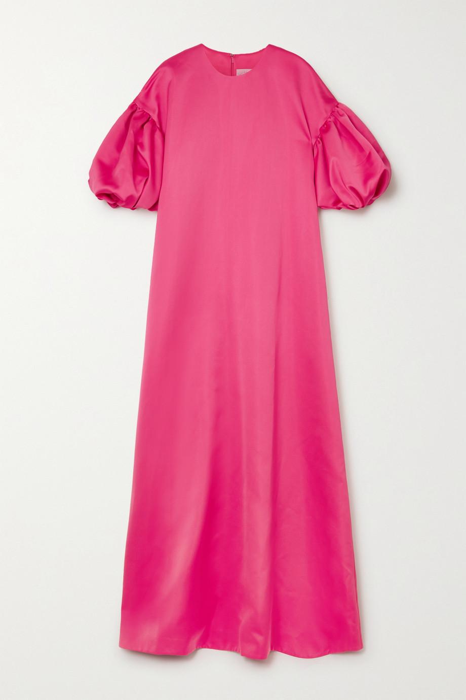 Huishan Zhang Celeste Robe aus Satin