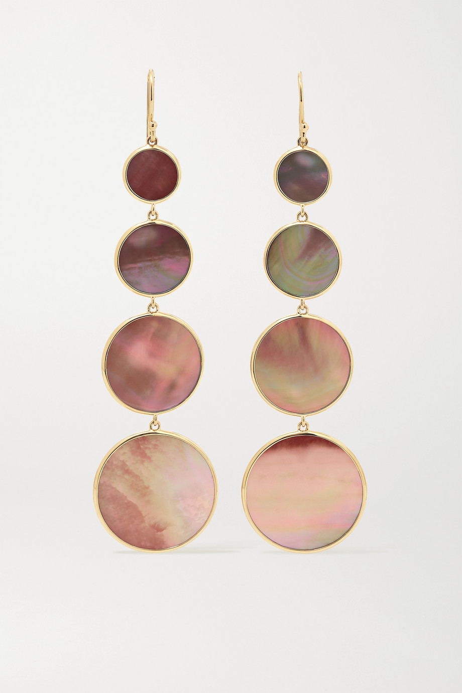 Ippolita Polished Rock Candy® Ohrringe aus 18 Karat Gold mit Muscheln