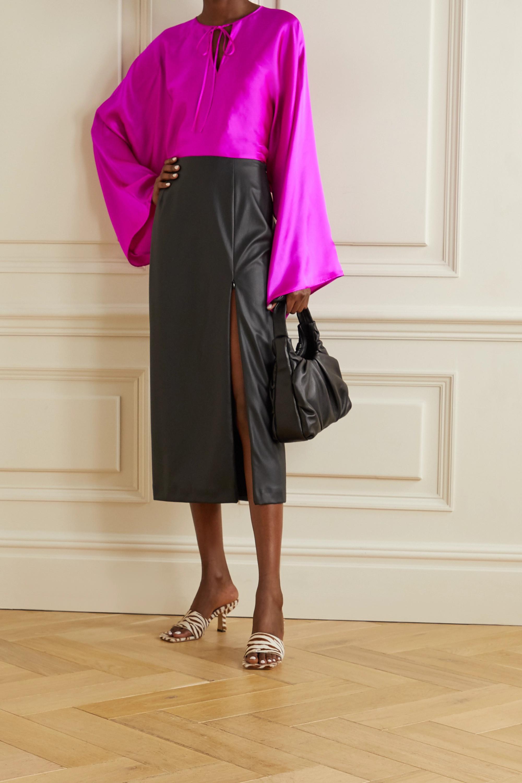 BERNADETTE Naomi silk-satin blouse