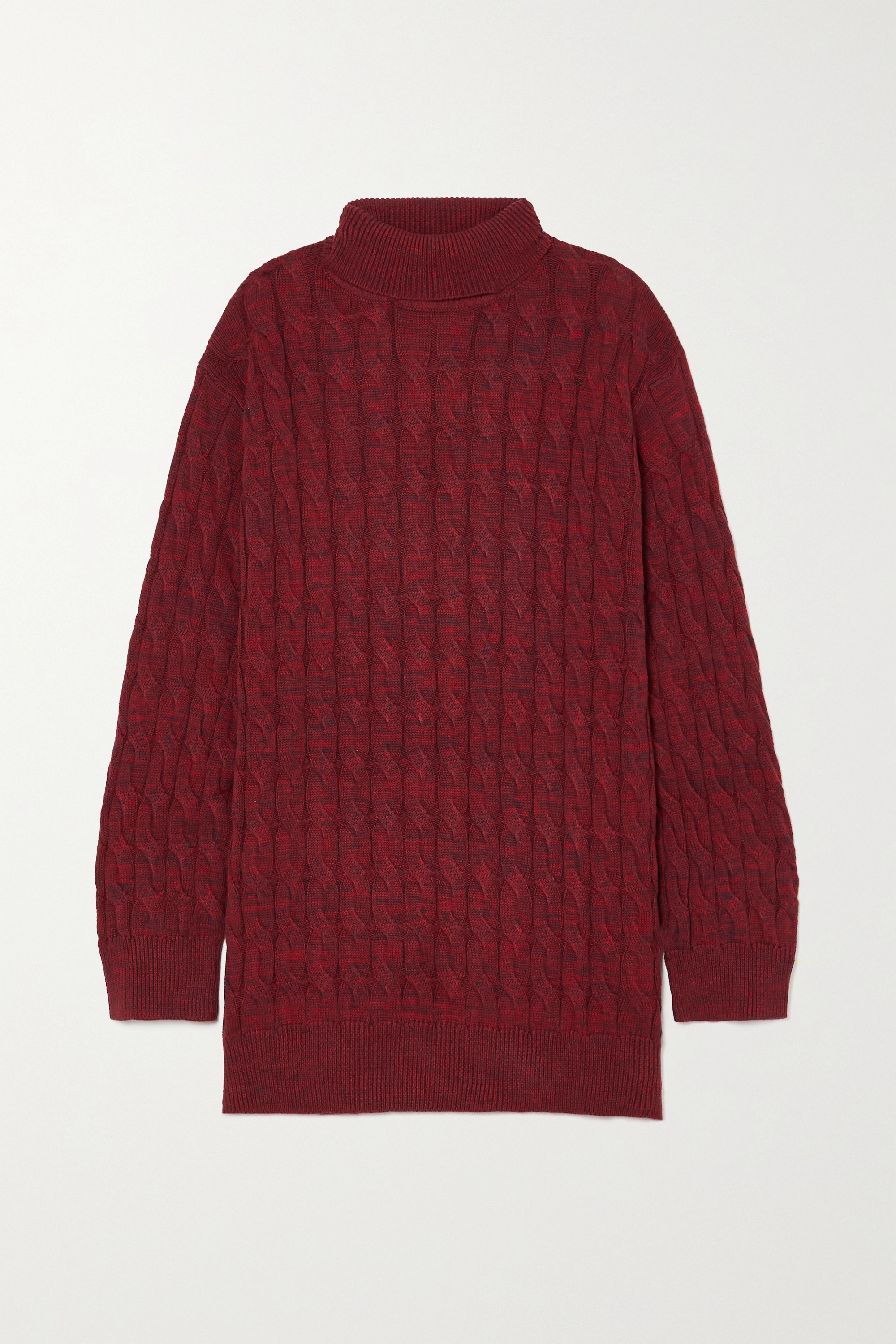 ANNA QUAN Dante cable-knit cotton sweater