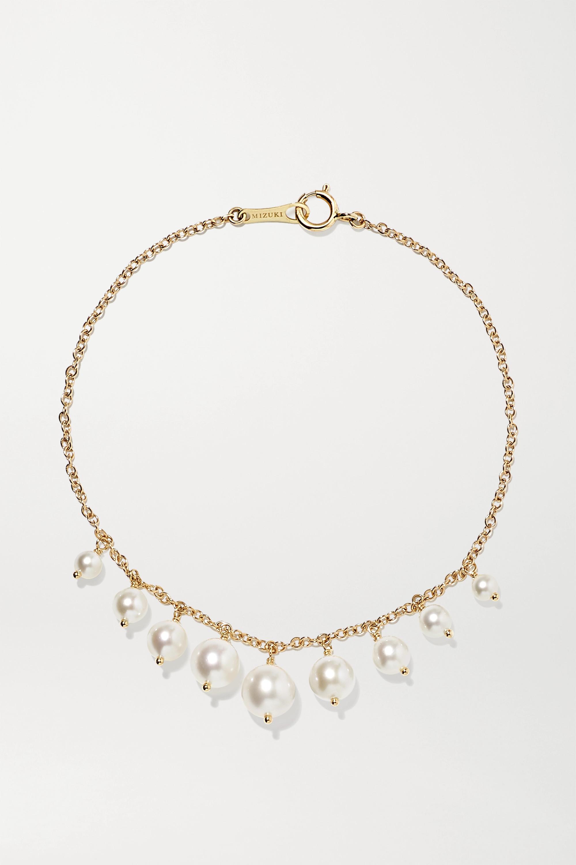 Mizuki Bracelet en or 14 carats et perles