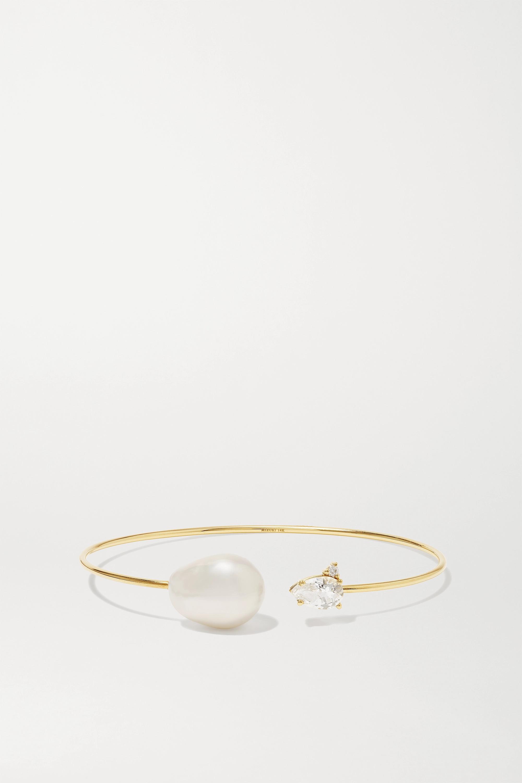 Mizuki Bracelet en or 14carats et pierres multiples