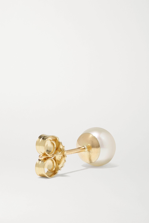 Mizuki Ohrstecker aus 14 Karat Gold mit Perlen