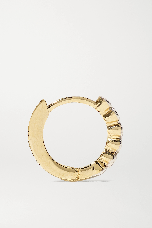 Mateo 14K 黄金钻石耳环