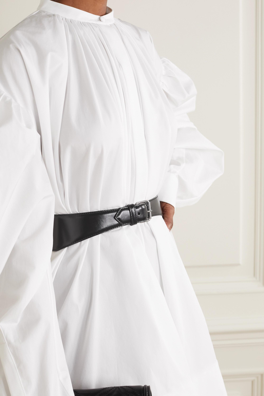 Alexander McQueen Leather waist belt