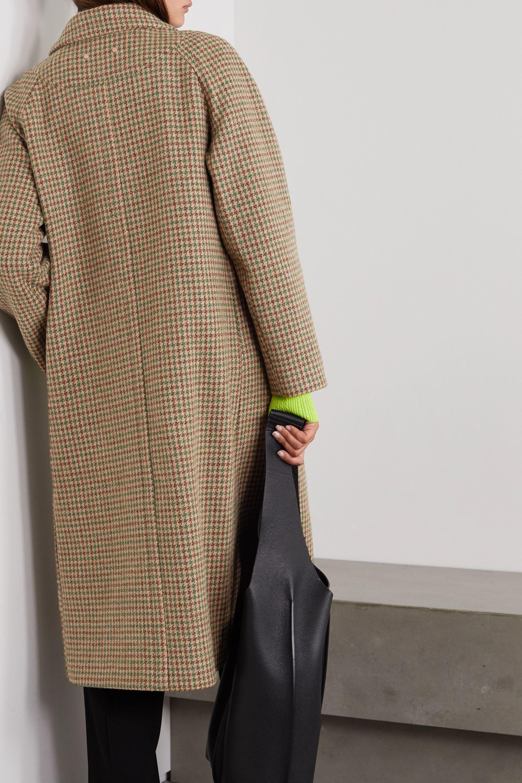 Andersson Bell Ingrid houndstooth cotton-tweed coat