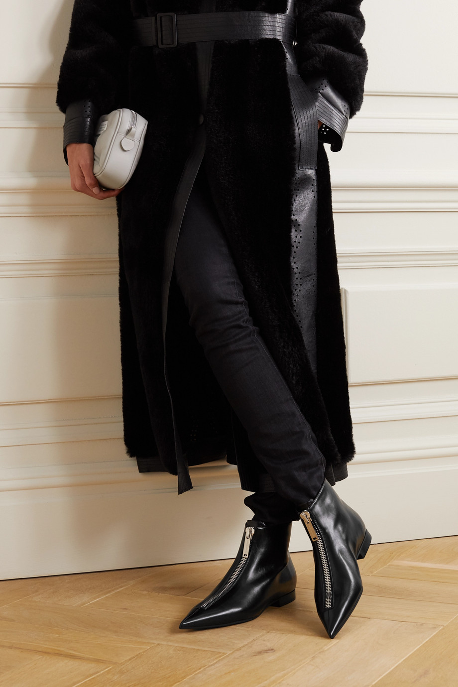 Stella McCartney Zipit vegetarian leather ankle boots