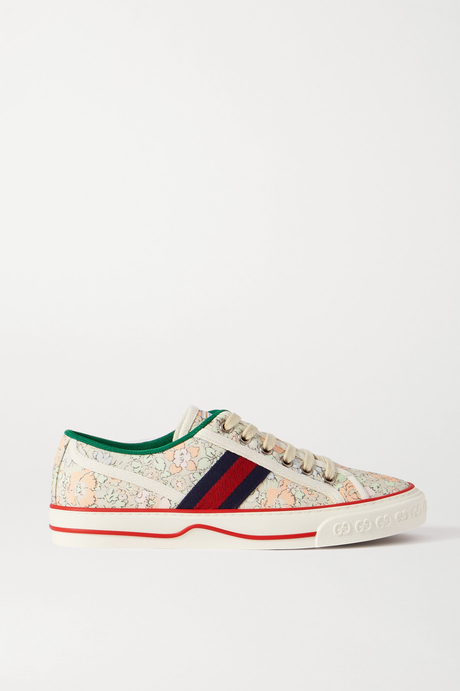 Gucci Tennis 1977 floral-print canvas sneakers