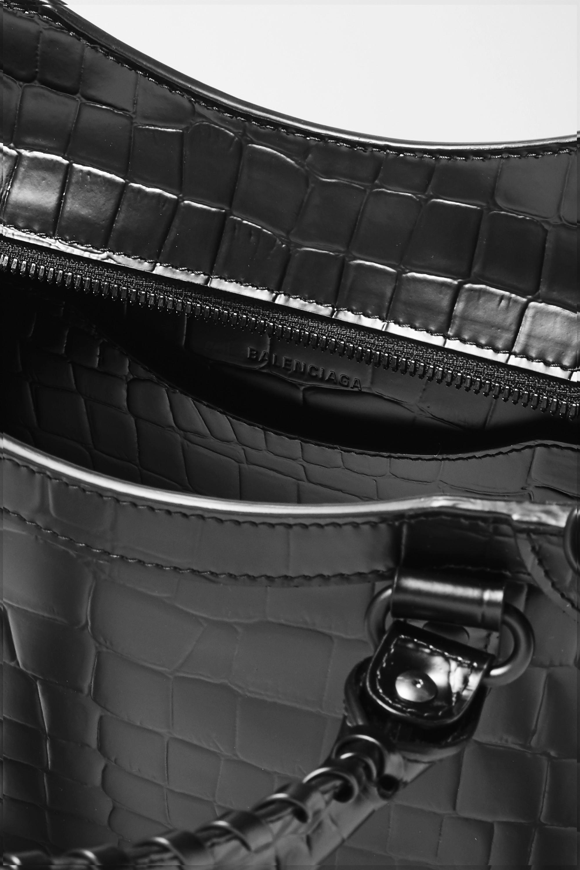 Balenciaga Neo Classic City small croc-effect leather tote