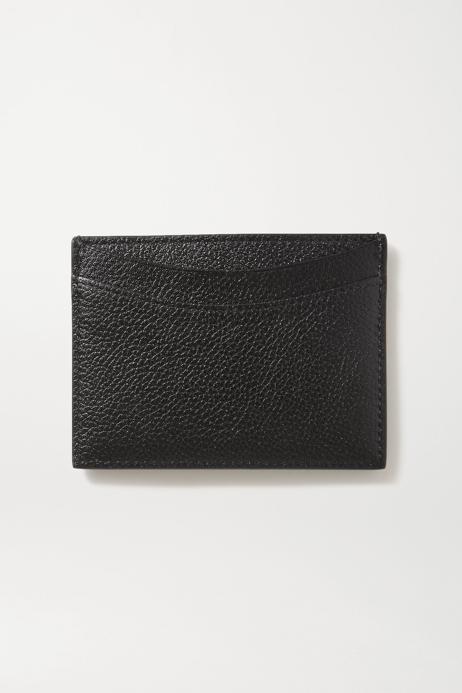 Balenciaga Hourglass textured-leather cardholder