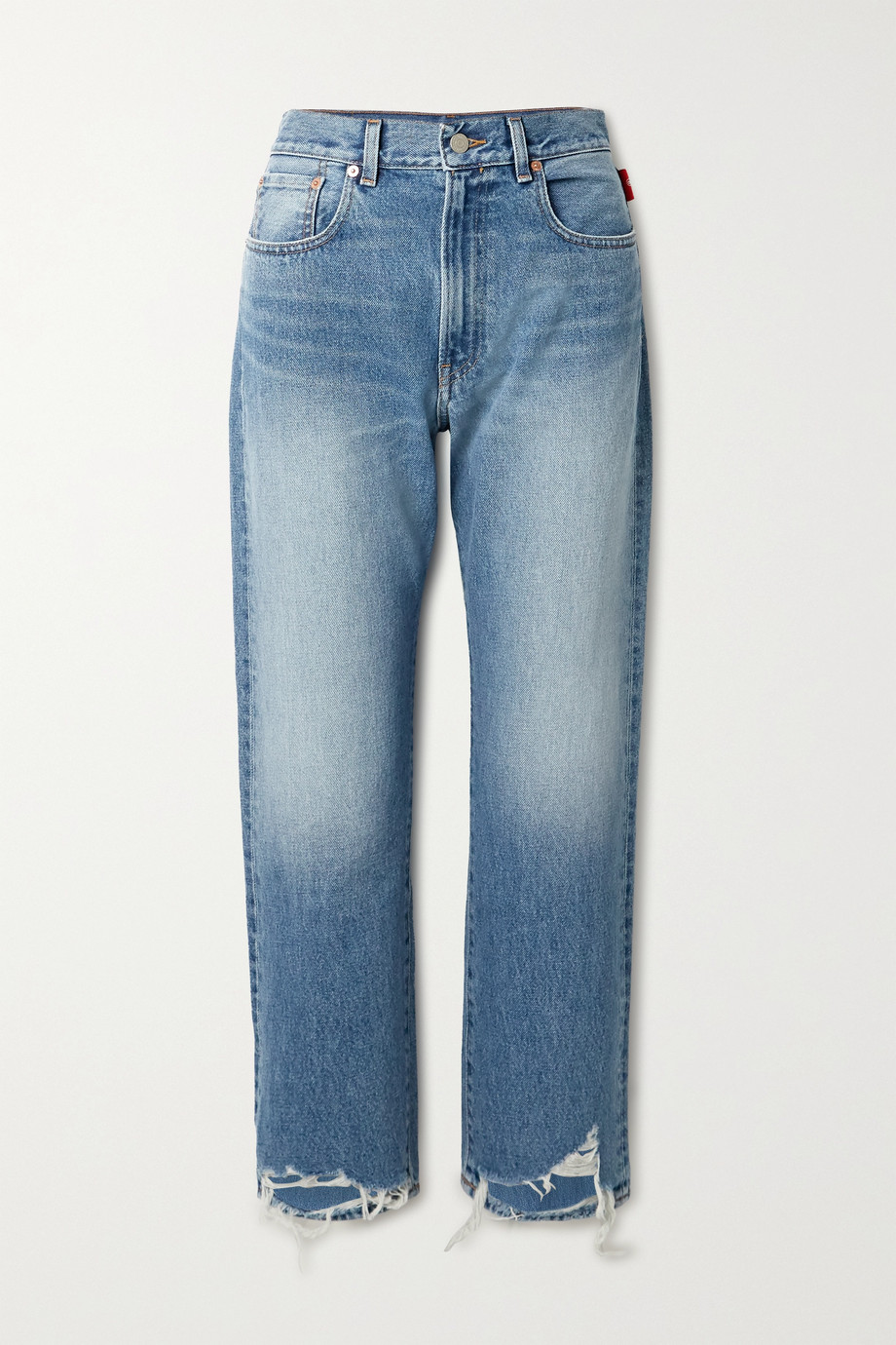 Denimist Boyfriend-Jeans in Distressed-Optik