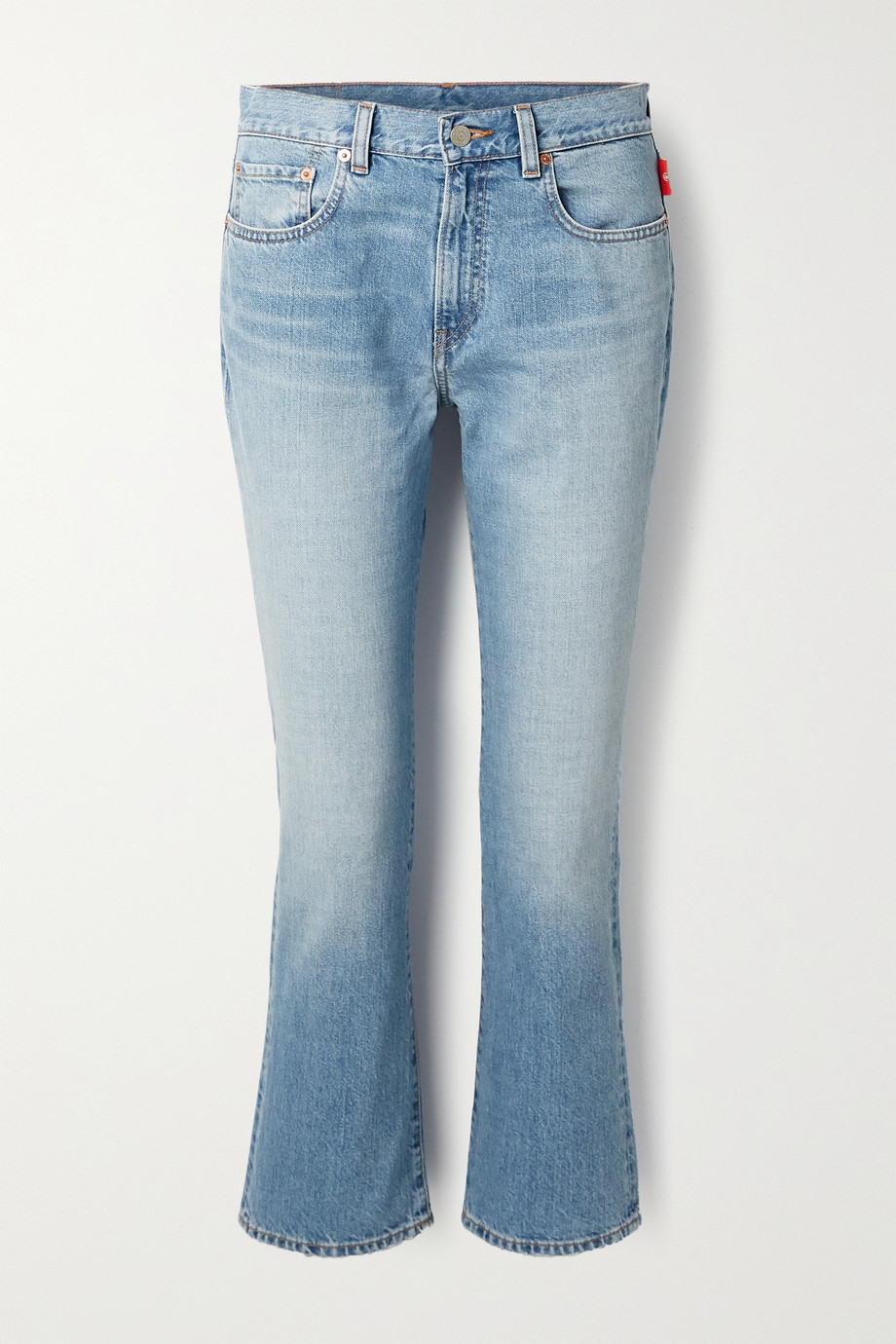 Denimist Tracer mid-rise flared jeans