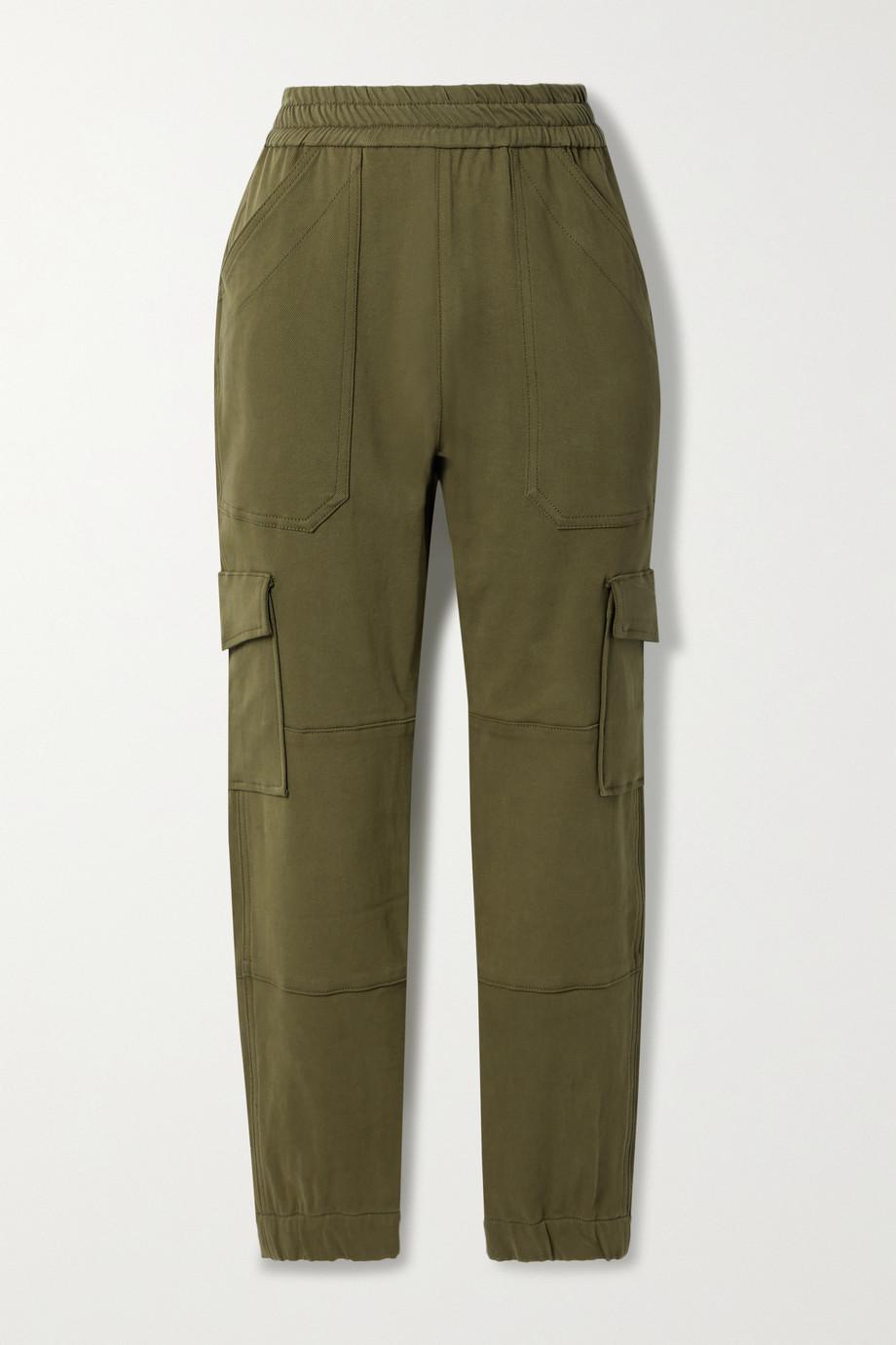 SPRWMN Pantalon fuselé en serge de coton