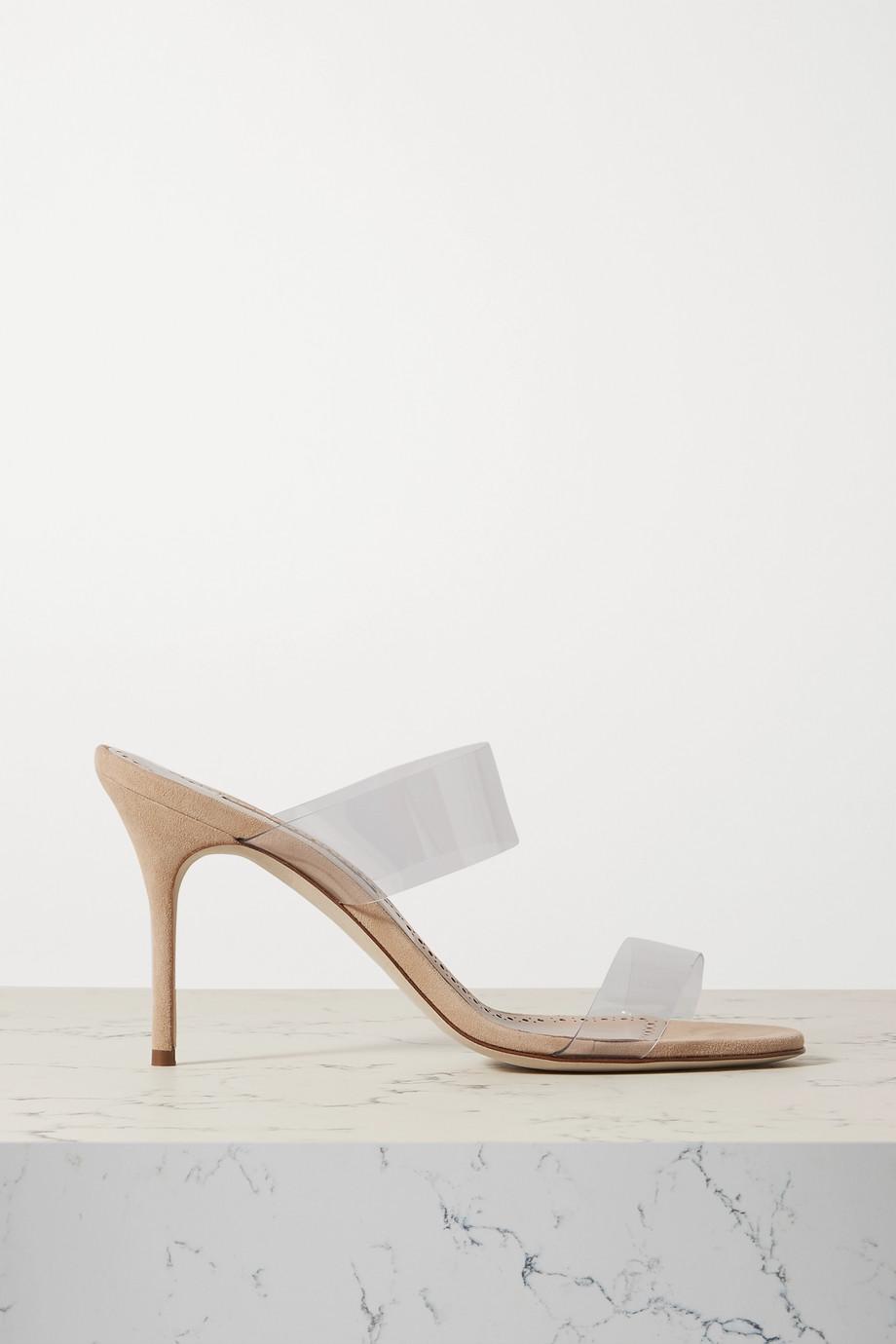 Manolo Blahnik Scolto PVC 穆勒鞋