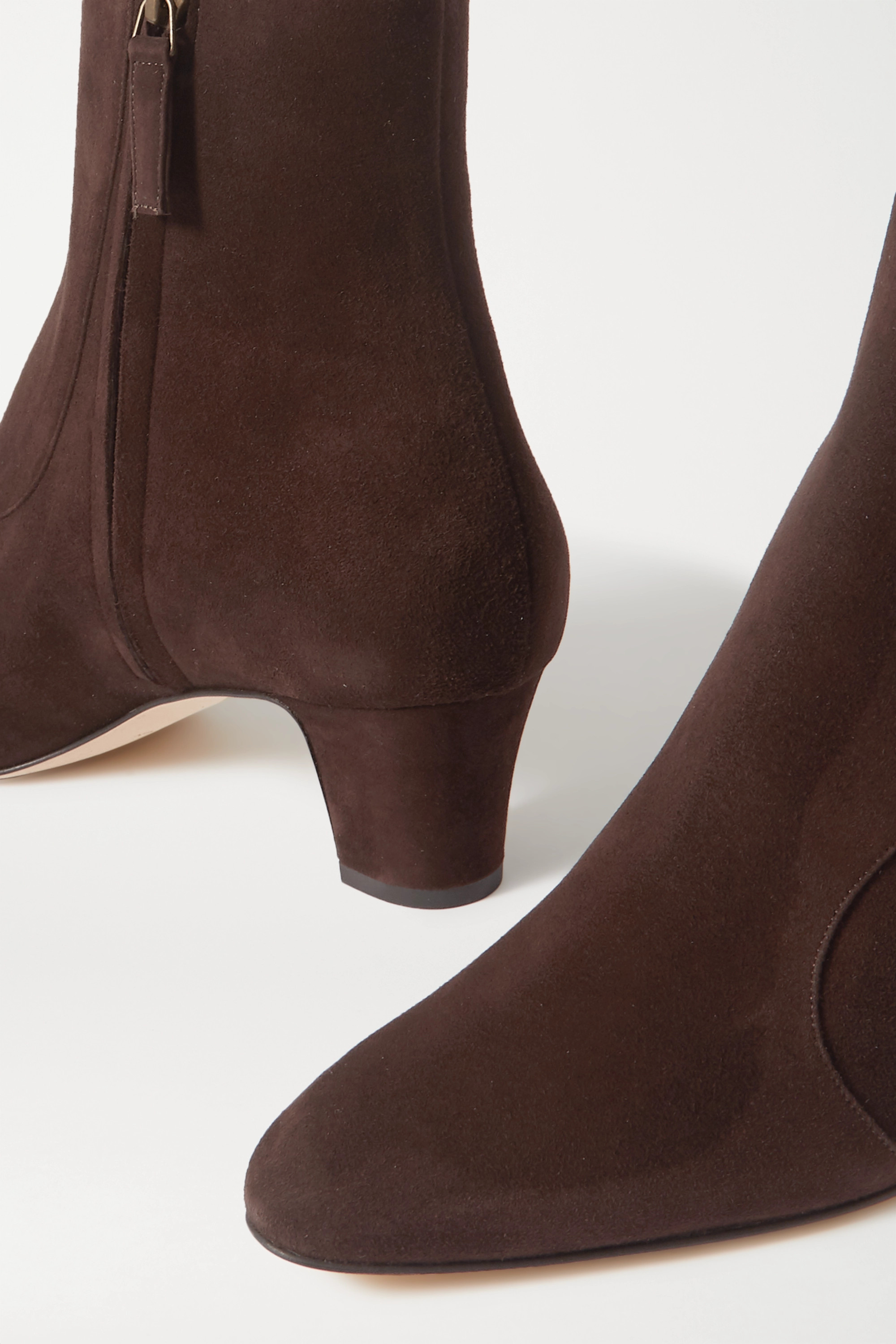 Manolo Blahnik Bottines en daim Myconia