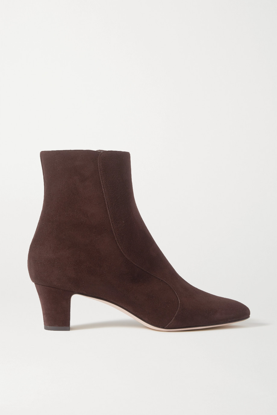 Manolo Blahnik Myconia suede ankle boots