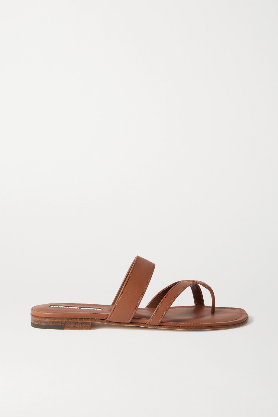 Manolo Blahnik Susa leather sandals