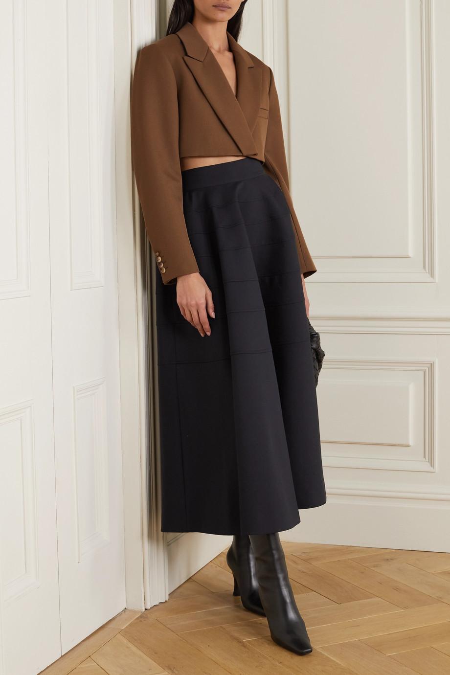 Nina Ricci Cropped wool blazer