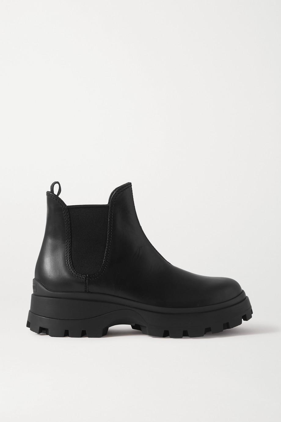 Miu Miu Leather Chelsea boots