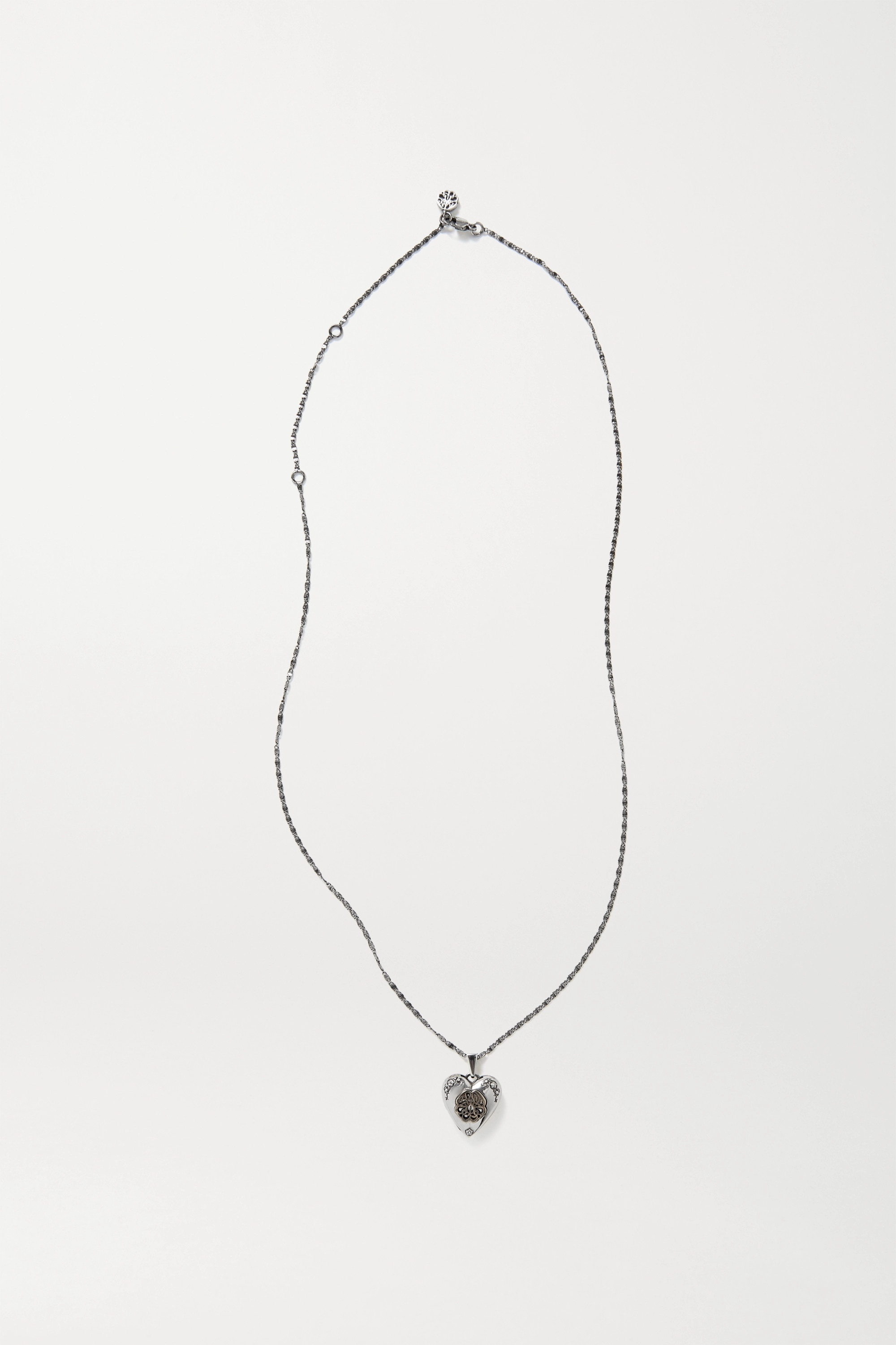 Alexander McQueen Silver and gold-tone necklace