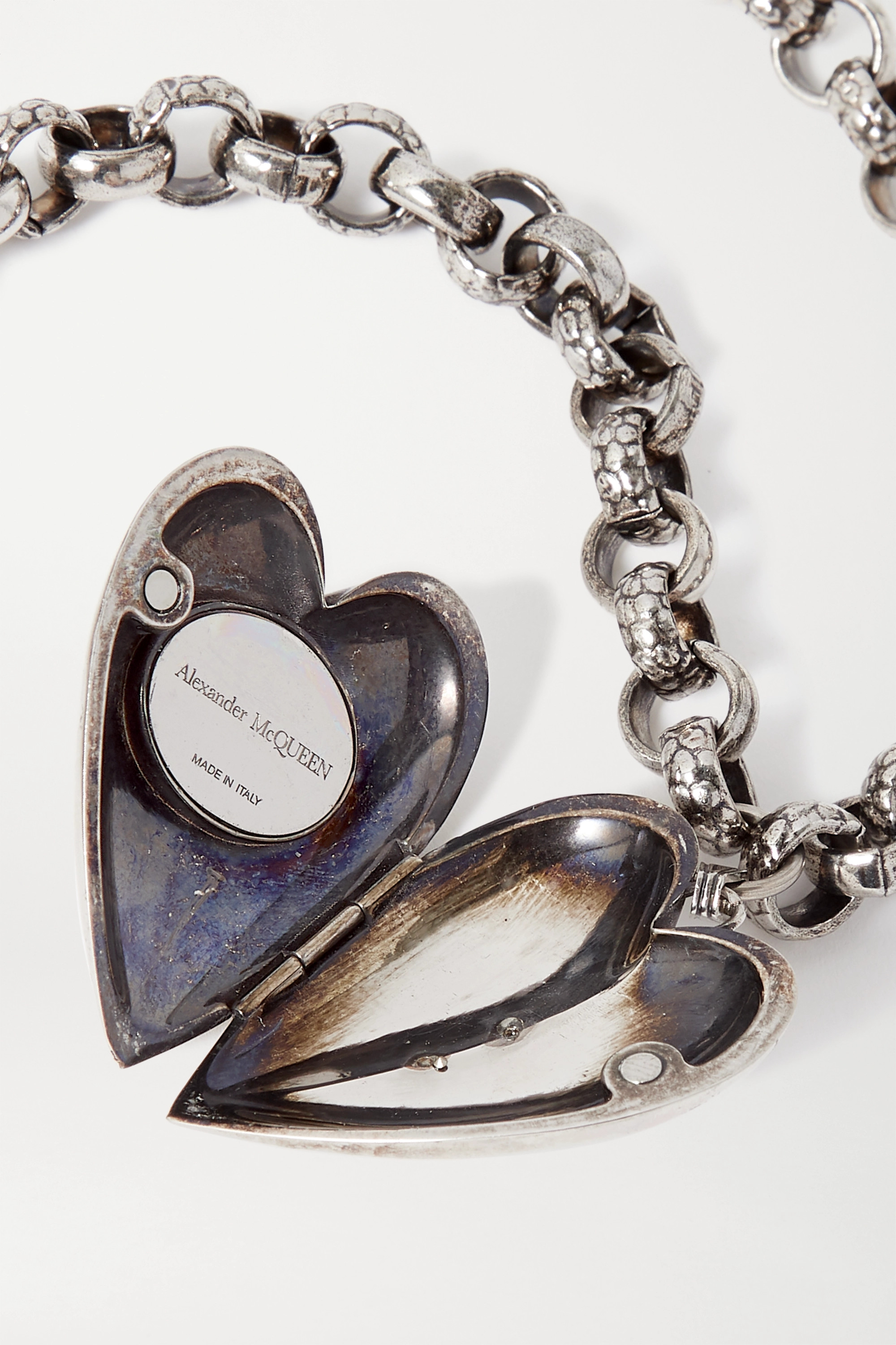 Alexander McQueen Silver- and gold-tone necklace
