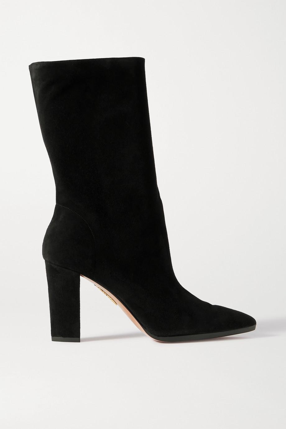Aquazzura Skyler suede boots