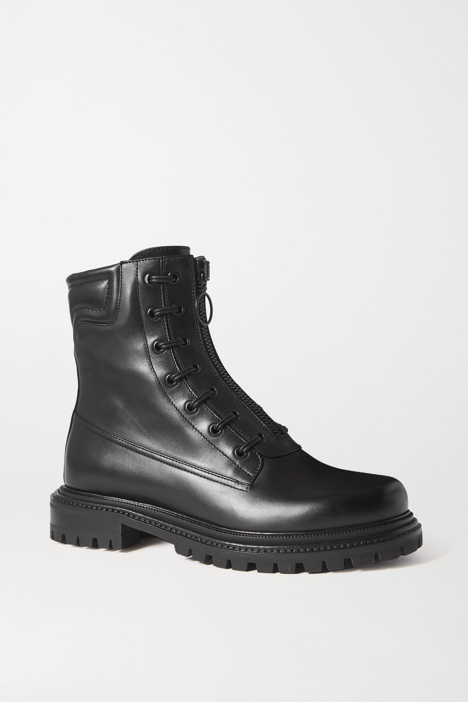 Aquazzura Kicks 35 Stiefel aus Leder
