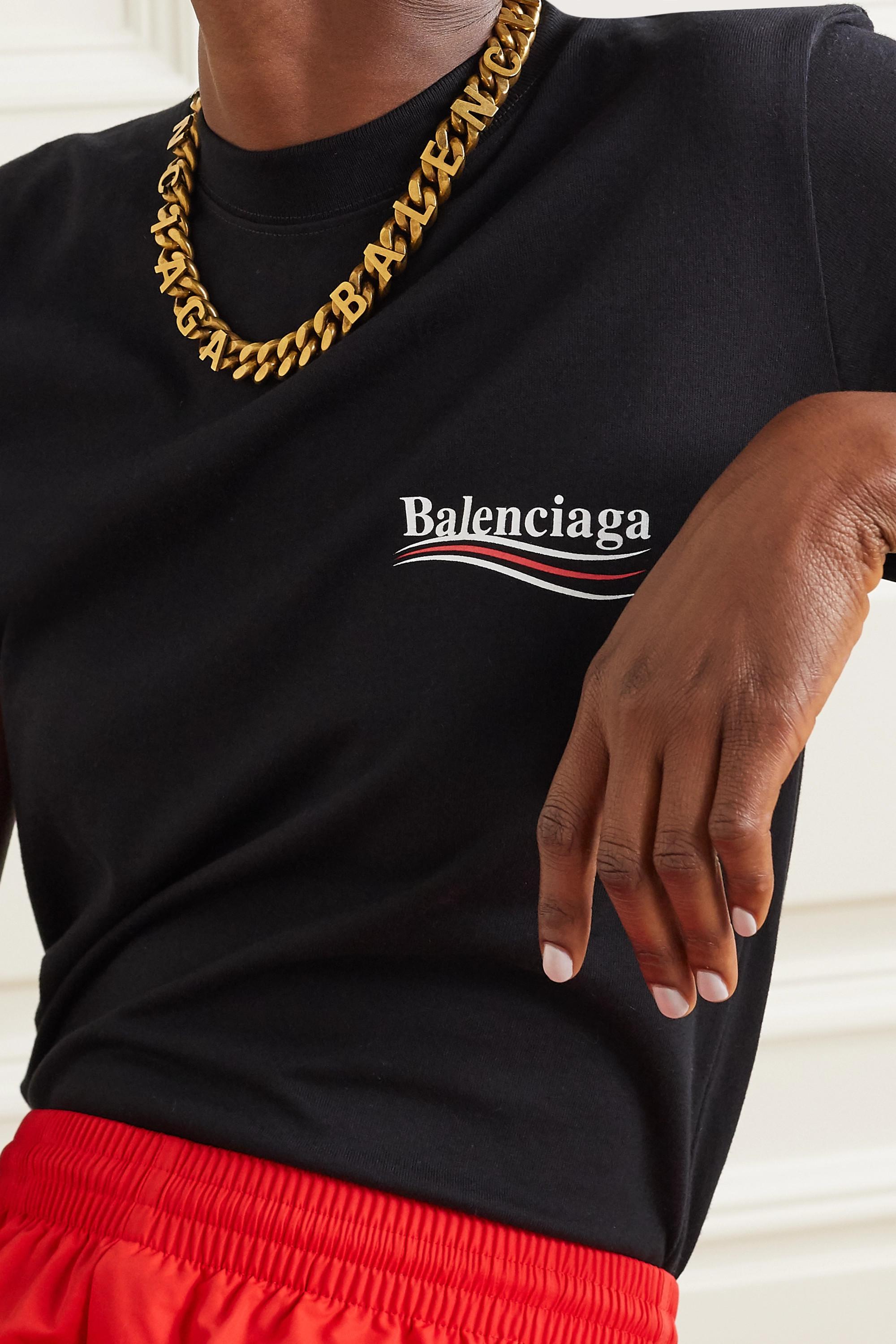 Balenciaga Gold-tone necklace