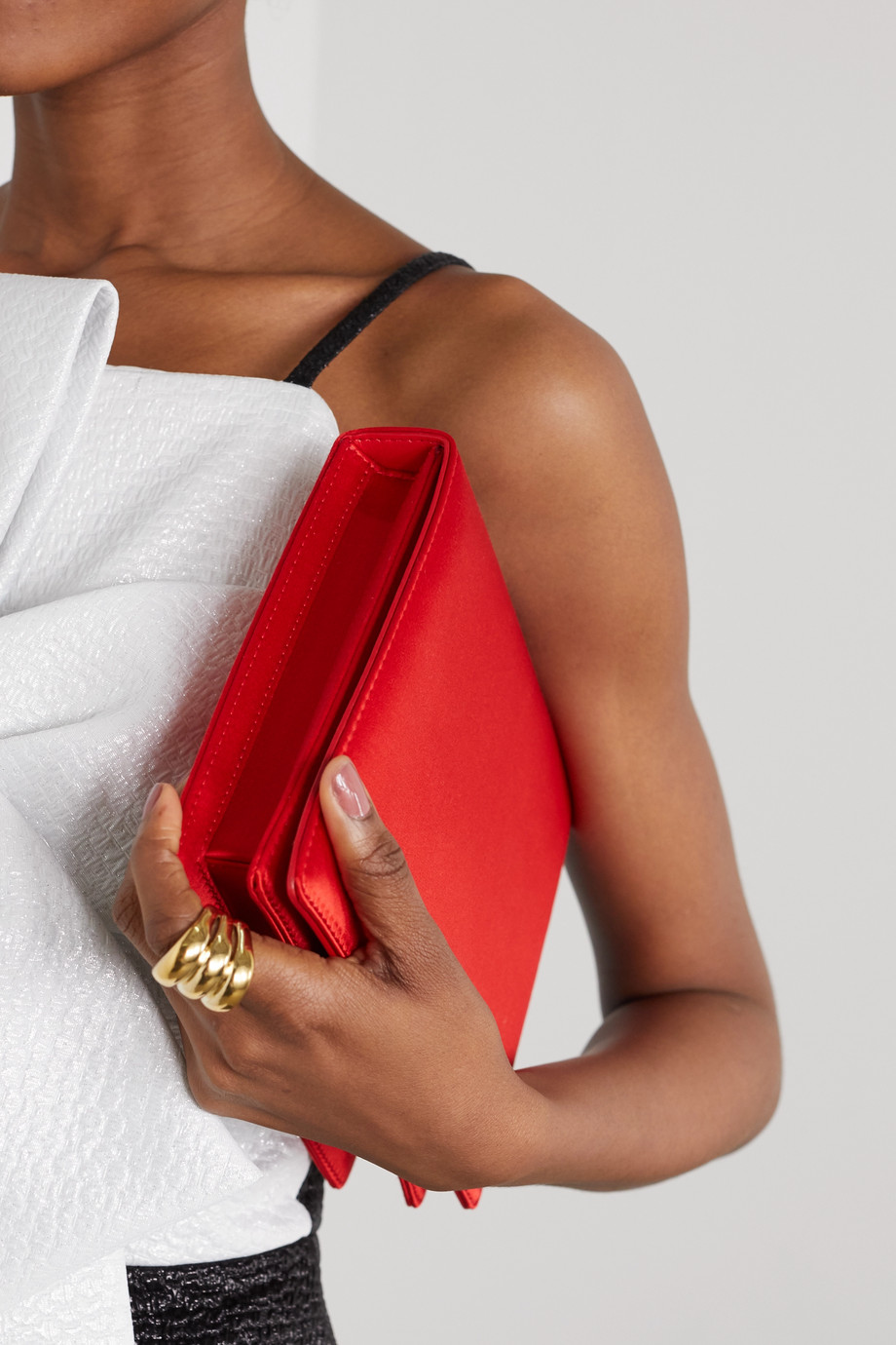 Emilia Wickstead Satin clutch