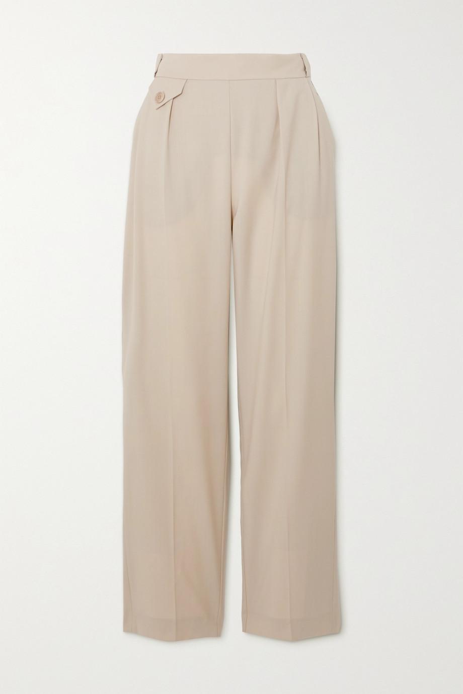 Envelope1976 Pantalon fuselé en laine Marias