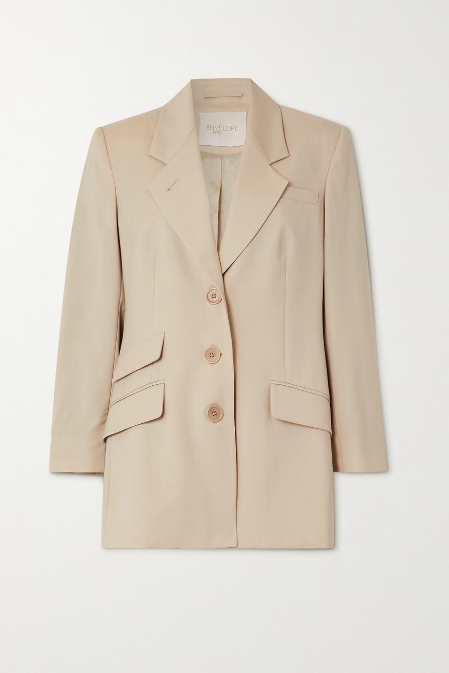 Envelope1976 + NET SUSTAIN Marais Oversized-Blazer aus Wolle