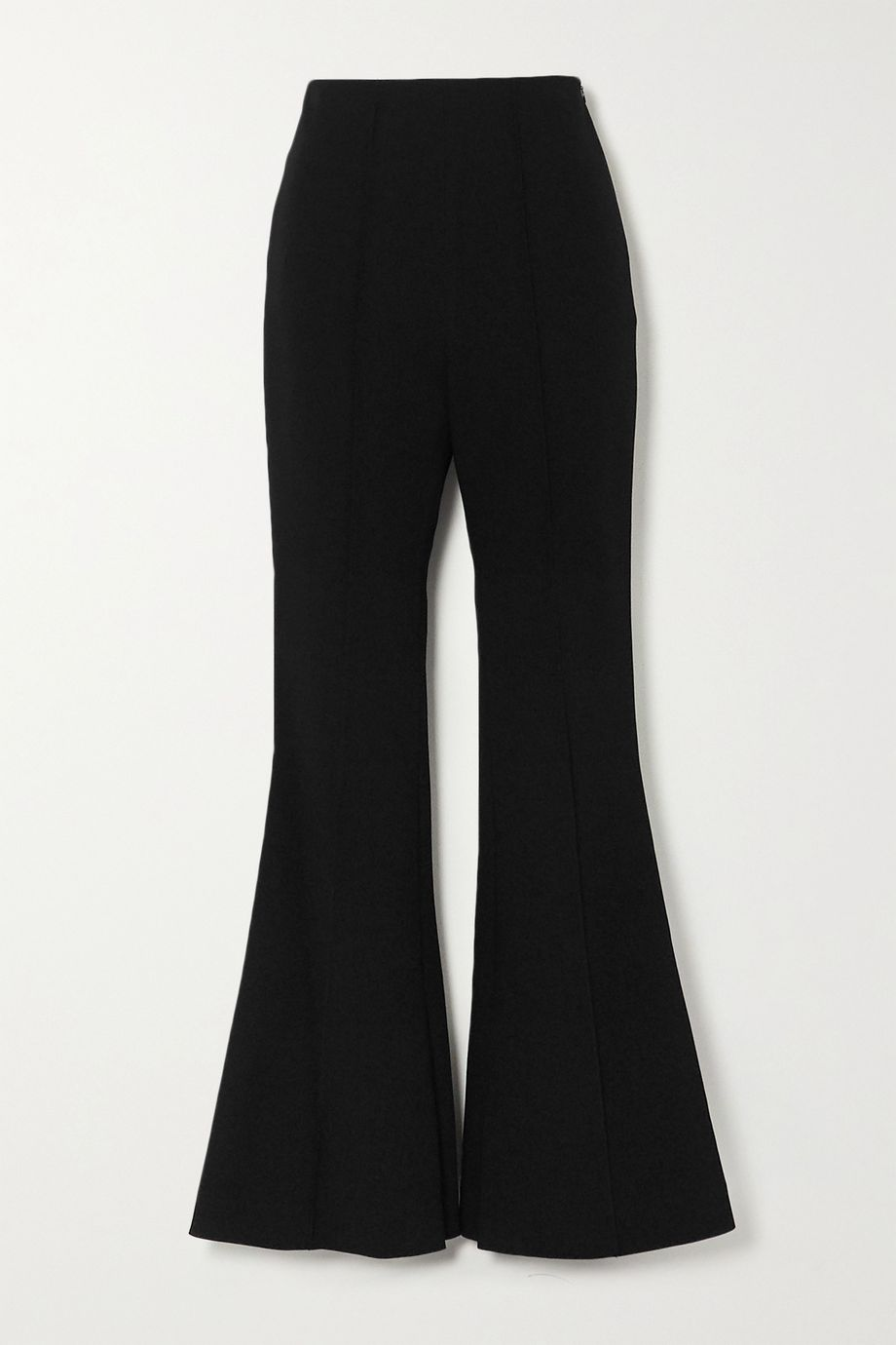 LOW CLASSIC Crepe flared pants