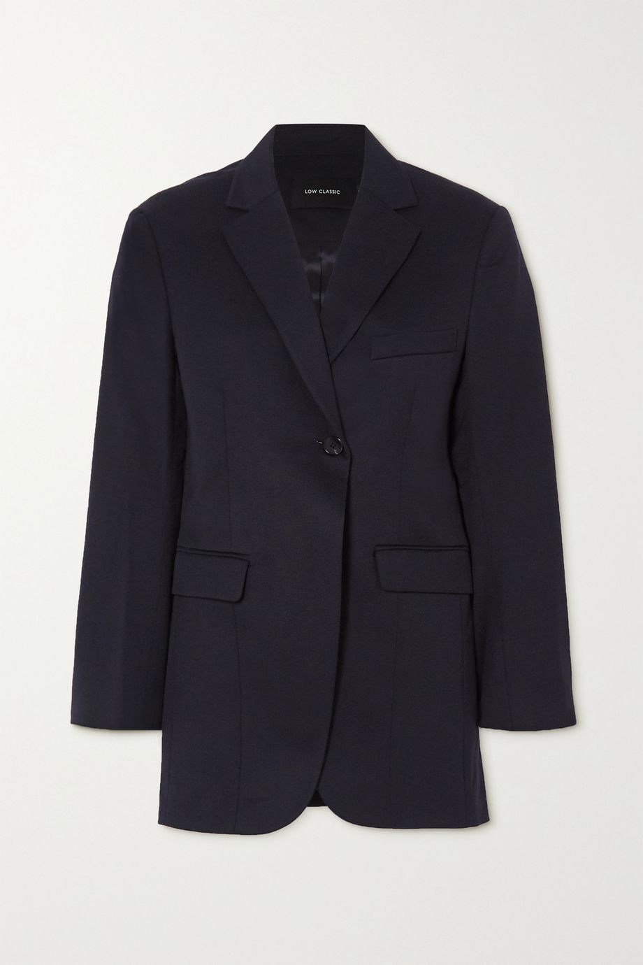 LOW CLASSIC Blazer aus Woll-Twill