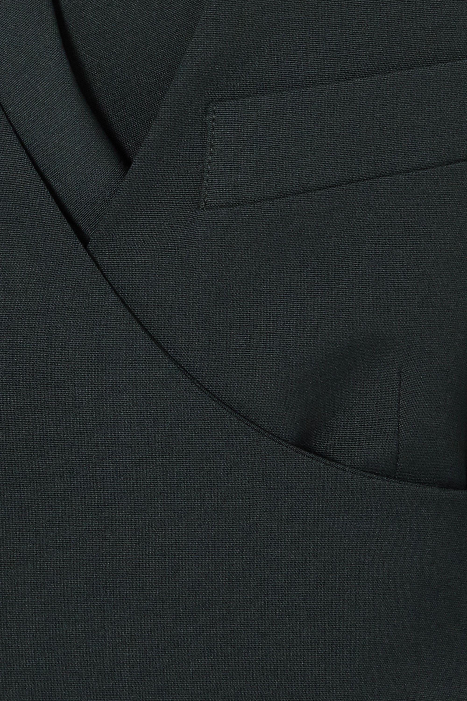 LOW CLASSIC Mehrlagiger Blazer aus Webstoff mit Wickeleffekt