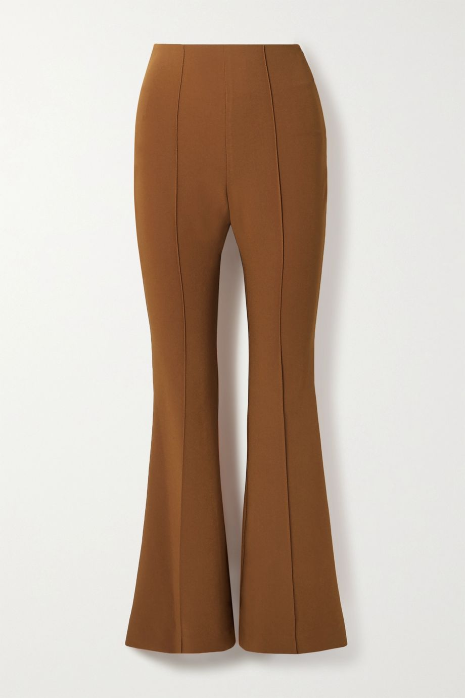 LOW CLASSIC Cropped cady flared pants